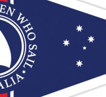 WWS . Australia Burgge design Sticker