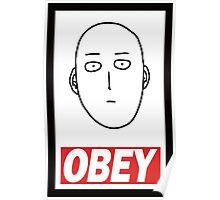 Saitama Obey Poster