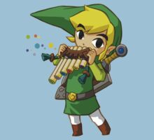 Link Windwaker Tee by Rainbowdropz
