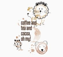 Coffee and Tea and Cocoa, Oh My! Kids Clothes