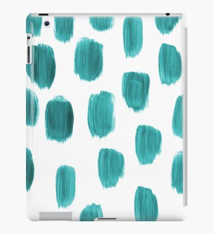 Handpainted Brush Texture iPad Case/Skin