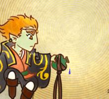 Young Ganondorf Sticker