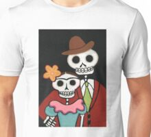 Two Skelly Artists Unisex T-Shirt