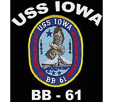 USS Iowa (BB-61) for Dark Colors Photographic Print