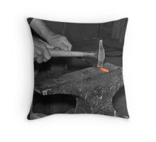 Of Flesh And Steel Throw Pillow