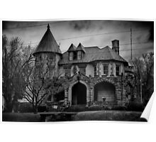 Gloom Settles Over The House On The Hill Poster