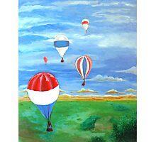 Balloon Races Over Fountain Valley Photographic Print