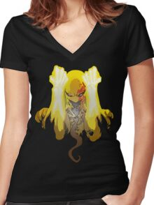 Iron Women's Fitted V-Neck T-Shirt
