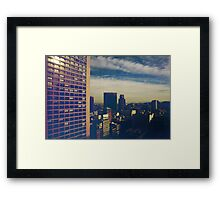 Out There Somewhere Framed Print