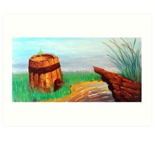 Mellow Springs of Fountain Valley Art Print