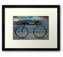 Bicycles Only Framed Print