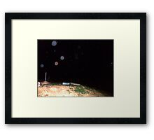 Orb Reporting Photograph #22 B Framed Print