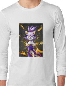 Blaze the Cat: Fire Within Me Long Sleeve T-Shirt