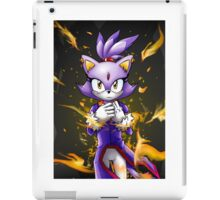 Blaze the Cat: Fire Within Me iPad Case/Skin