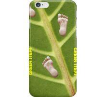 Green Steps! iPhone Case/Skin