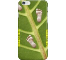 Green Steps! iPhone Case/Skin