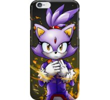 Blaze the Cat: Fire Within Me iPhone Case/Skin
