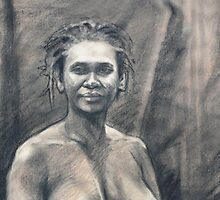 Portrait of Kuntamari by Roz McQuillan