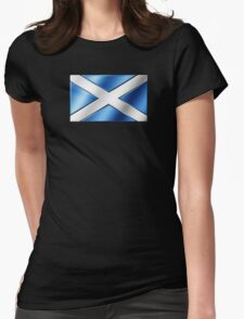 Scottish Flag - Scotland - Metallic T-Shirt
