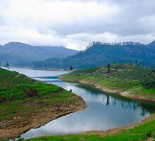Maskeliya lake Sri Lanka by Anuradha  Sandeepika