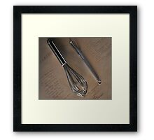 Ode to the Saucier Framed Print