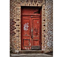 Langsyne Door Photographic Print