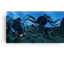 In Alien Seas Canvas Print