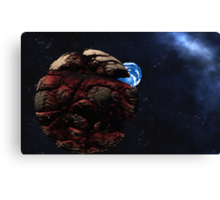 The Serpents Coil Canvas Print