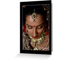 BEJEWELLED BEAUTY Greeting Card