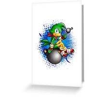 Sonic Boom: Bean the Dynamite Greeting Card