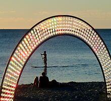 Sunlit Arch by Christina Backus