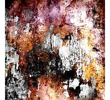 Paint Layers Photographic Print