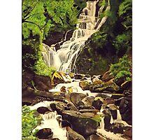 Mountainous Stream Photographic Print