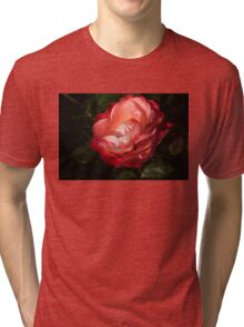 Chiaroscuro Rose – A Gift From My Mother's Garden Tri-blend T-Shirt