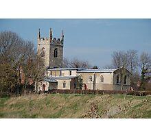 Parish Church Of All Saints, Barnby on The Willows, Nr Newark Photographic Print