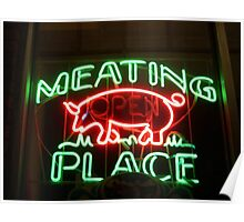The Meating Place, Ringwood Avenue, Haskell, NJ Poster