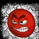 Angry tee by nishagandhi