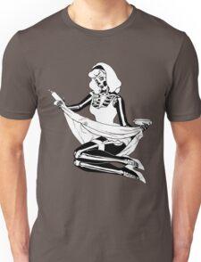 Pin Up Skeleton Girl T-Shirt