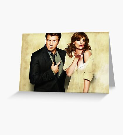 Castle & Beckett Greeting Card