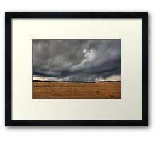 Az eső lába (the rain in HDR) Framed Print