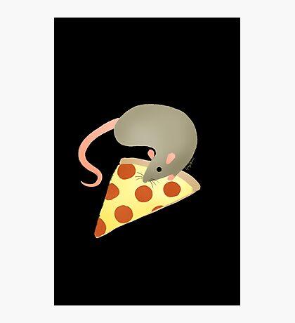 NYC Rats ❤︎ Pizza Photographic Print