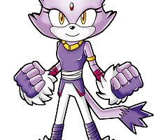Sonic Boom: Blaze the Cat by Havocgirl