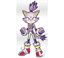 Sonic Boom: Blaze the Cat Poster