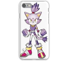 Sonic Boom: Blaze the Cat iPhone Case/Skin