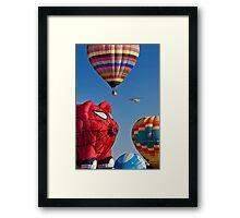 2011 Special Shapes - Spider Pig Framed Print
