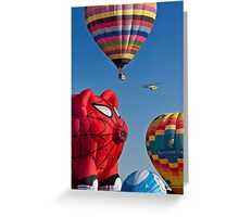 2011 Special Shapes - Spider Pig Greeting Card