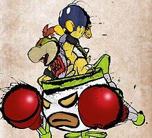 Bowser Jr. by BradBailey