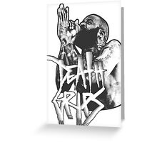 Death Grips | White Greeting Card