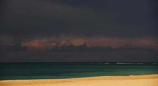 Gray Over Blue Over Sands by fototaker