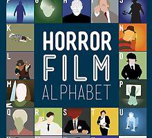 Horror Film Alphabet by Stephen Wildish